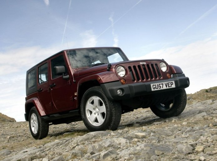 Jeep Wrangler Unlimited UK Version 2008 Pictures 02